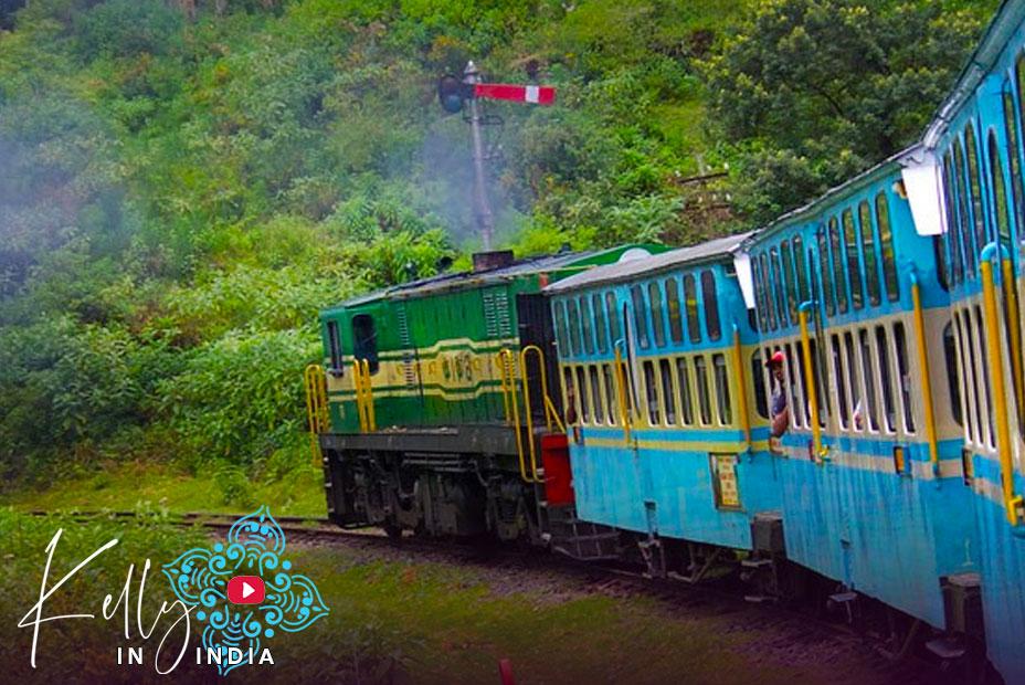 Kelly in India: Episode 01. Train to Pondicherry